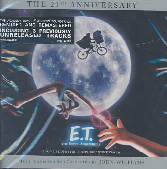 E.T. EXTRA-TERRESTRIAL (OST) 20TH BY WILLIAMS,JOHN (CD)