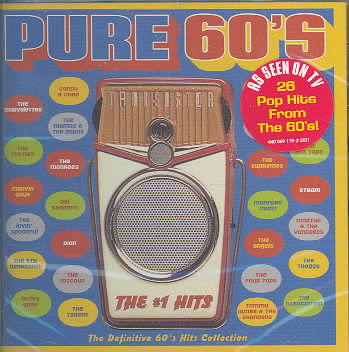 PURE 60'S THE # 1 HITS (CD)