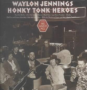 HONKY TONK HEROES BY JENNINGS,WAYLON (CD)